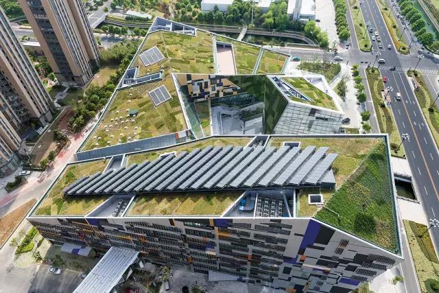 【一格园林】解读屋顶花园之绿化基本类型