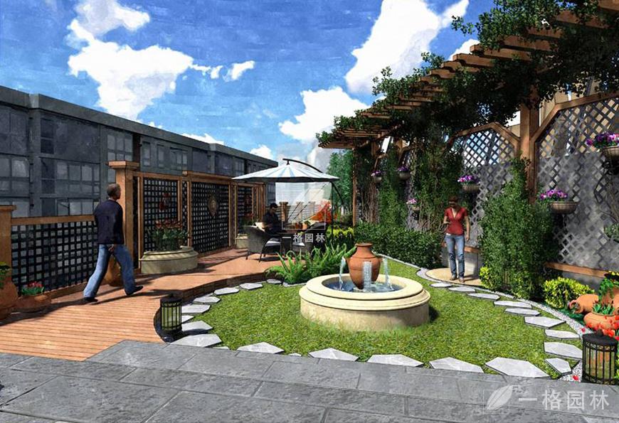 月星家居屋顶花园
